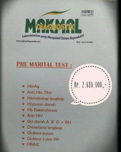 Pre Marital Test